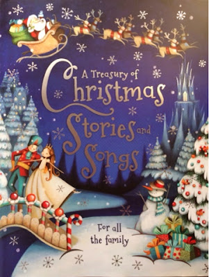 A Treasury of Christmas Stories and Songs - Book Cover