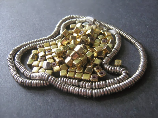 Silver and Gold Bead Giveaway