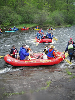 Whitewater rafting 2009