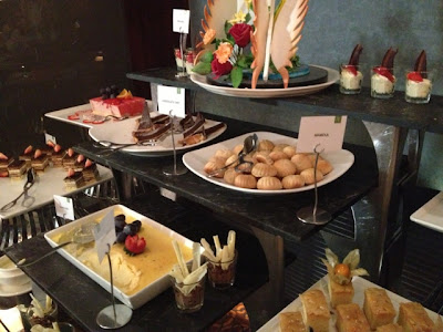 Desserts at Petals Restaurant, Rose Rayhaan by Rotana