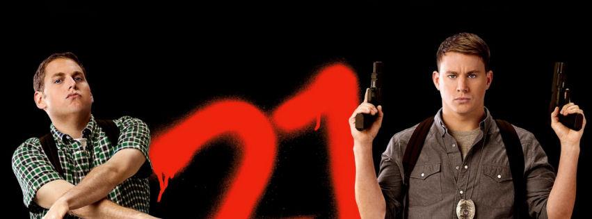 21 jump street movie facebook cover