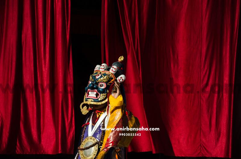 Mahakala dance, Cham dance, mahakala cham dance, sikkimise dance, kayged festival, tibetan dance