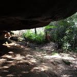 Under a rock overhang (134395)