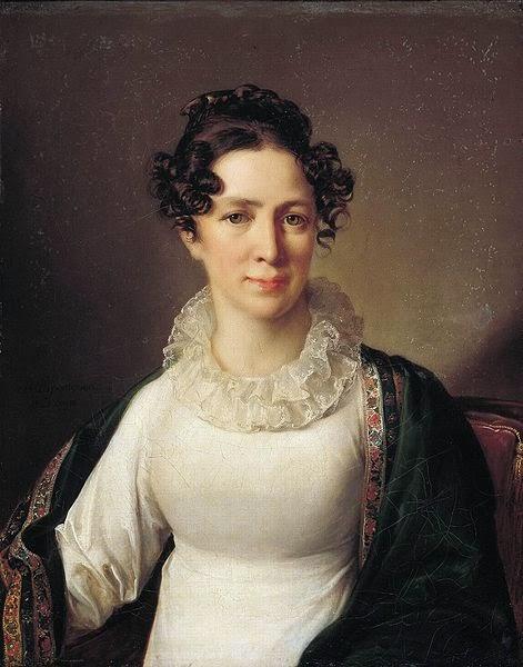 Vasily Tropinin - Portrait of the artist's sister VATropinin