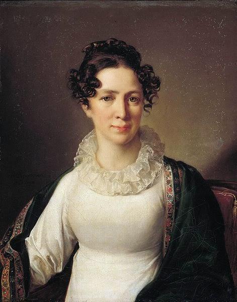 Vasily Tropinin - Portrait of the artist's sister VATropinin