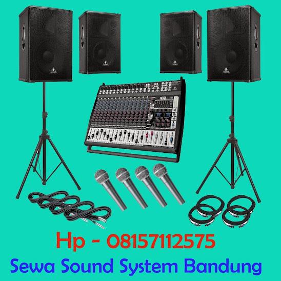 Hp 08157112575, Sewa Sound System Bandung, Rental Sound system di Bandung, Tempat Penyewaan Sound murah