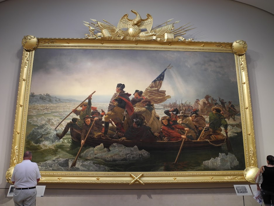 George Washington crossing the Delaware River