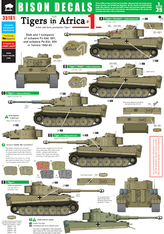 Tigre I Early Tamiya 35161_1