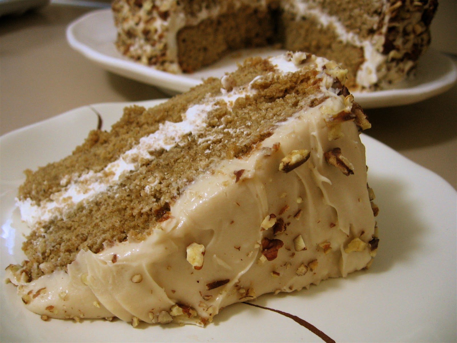 ... For Laughter: Spiced Layer Cake with Maple Cream Cheese Frosting