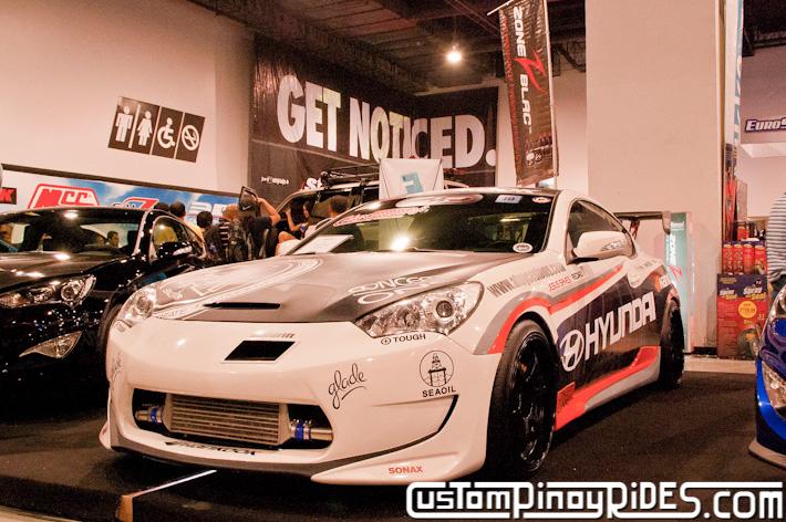 Hyundai Genesis Coupe Body Kit Designs by Atoy Customs 2012 Manila Auto Salon Custom Pinoy Rides pic34