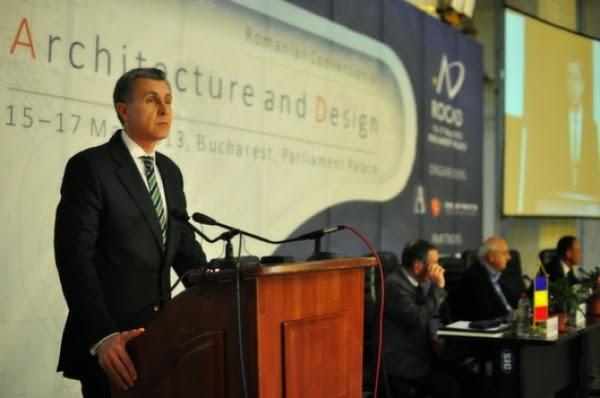 Principele Radu la Convenția Română de Arhitectură și Design, ediția 2014