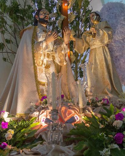 Agonía de Jesucristo y Angel