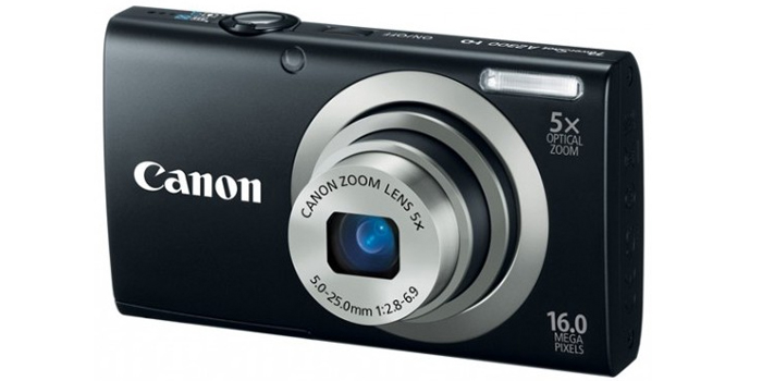 Post image for Canon PowerShot A2300 16.0MP Digital Camera