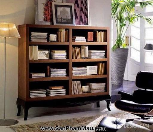 Các mẫu thiết kế nội thất phòng đọc sách P1-3