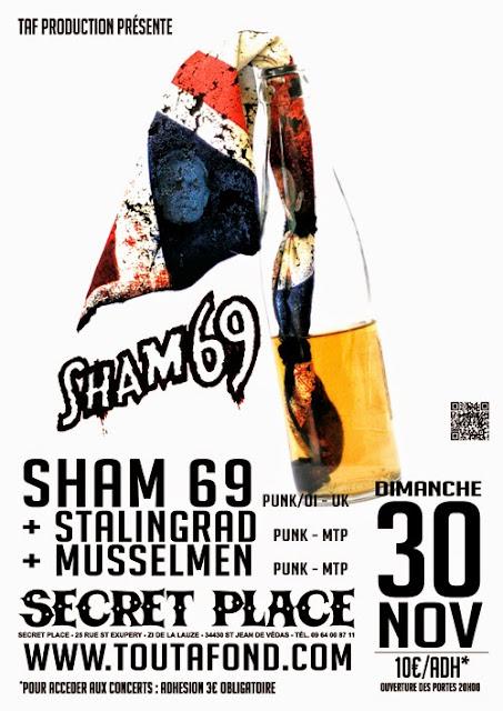 Sham 69 @ Saint-Jean de Vedas