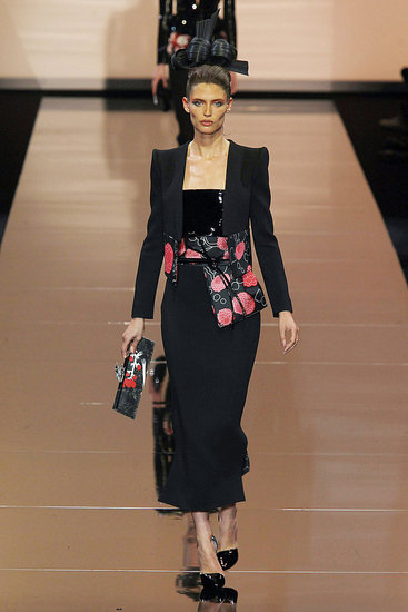 armani prive paris couture fall 2011