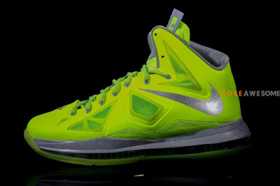 nike lebron 10 gr atomic volt dunkman 2 01 Finally a Decent Look at Nike LeBron X Volt Dunkman!