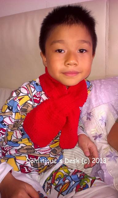Doggie boy's scarf