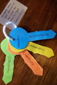 Keys to obedience tutorial the better mom for Junior church lessons and crafts