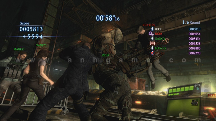 Đón ngày 12/12/2012 với chùm ảnh Resident Evil 6