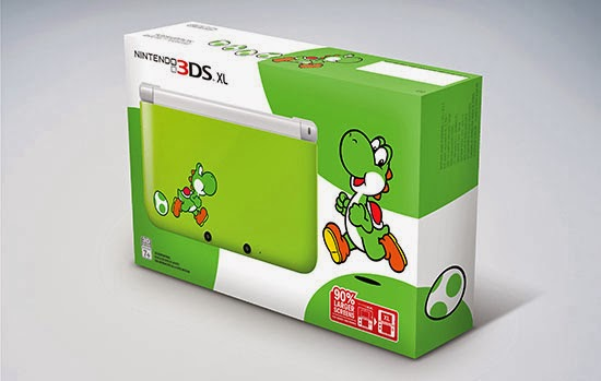 Yoshi special edition 3DS XL