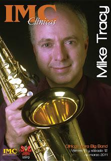 """Estudiantes de Música IMC-USFQ realizan clínicas con Mike Tracy, el """"Embajador del Jazz"""""""