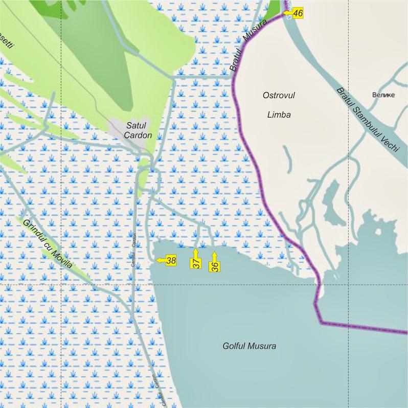 Delta de Nord - Intrarea 37
