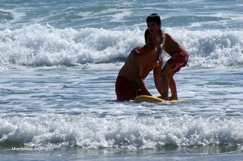 Surf na Praia de São torpes, Portugal