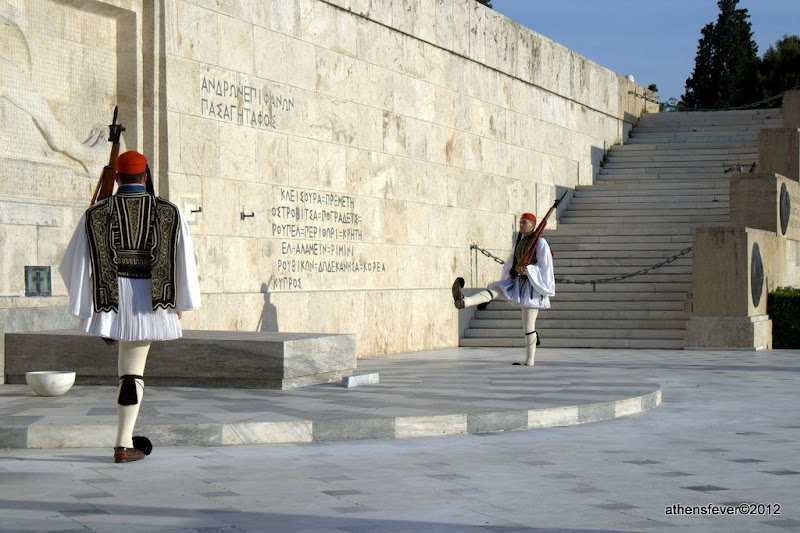 Unknown Soldiers Guards - Athens