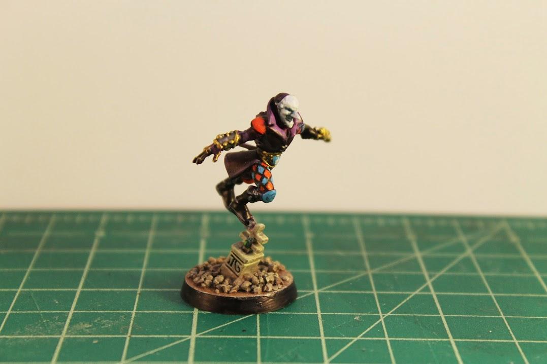 Harlequin Troupe Leader