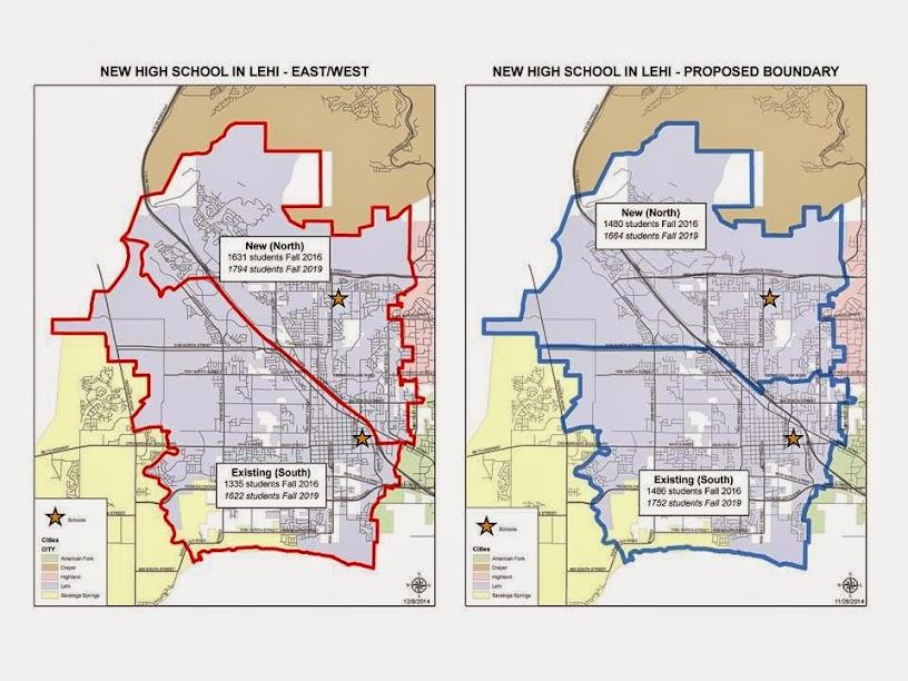 Sign Petition High School Boundary Change For Lehi Utah