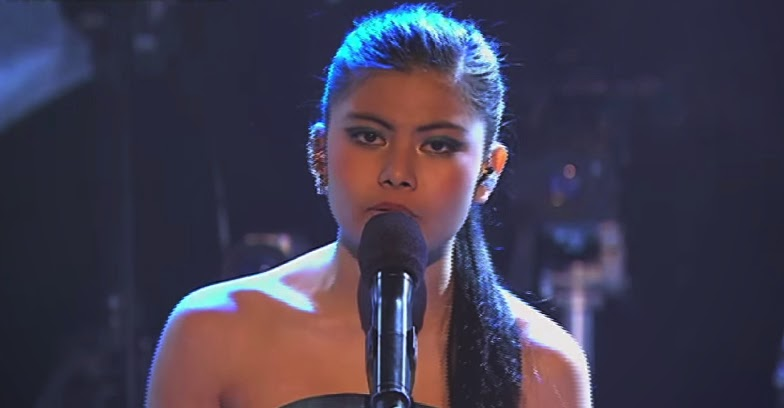 Marlisa Punzalan Singing Paparazzi The X Factor Australia  02 23-08-2014