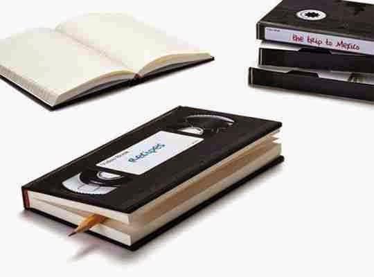 Cuaderno retro como idea de regalo