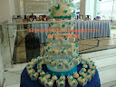Cupcakes Tower Light Turqoise
