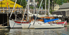J/80 and J/32 ready to race in Castine Race