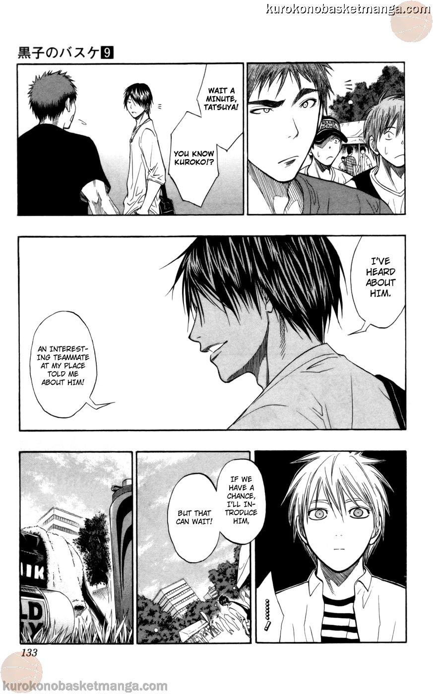 Kuroko no Basket Manga Chapter 77 - Image 07