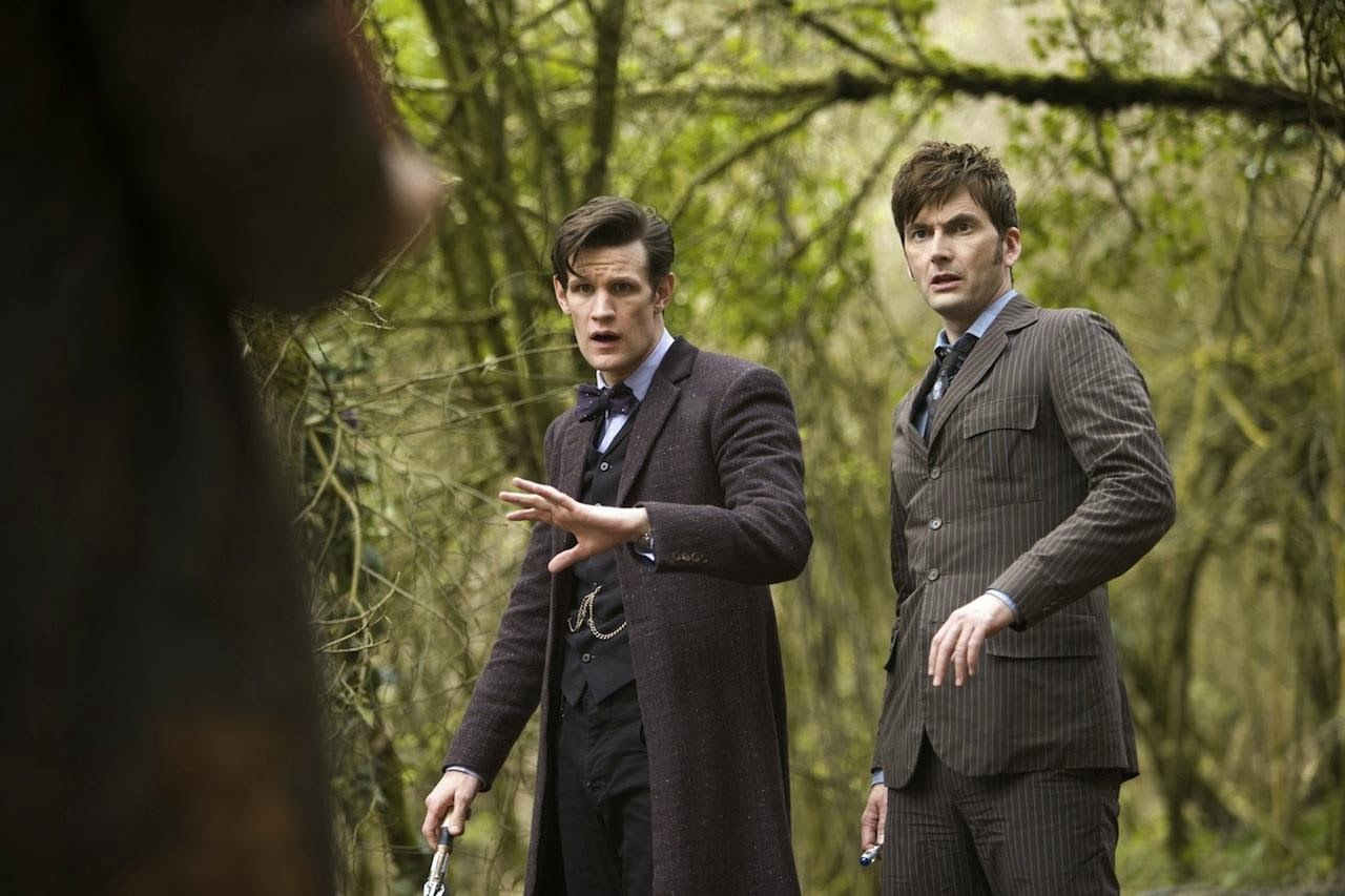 El Dia del Doctor: Matt Smith y David Tennant