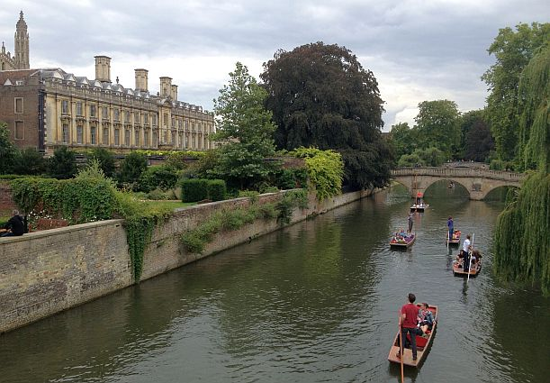 Master's Lodge Clare College am River Cam, Cambridge