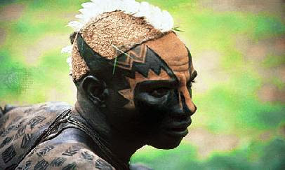 African Tribal Body Arts  Learn drawing