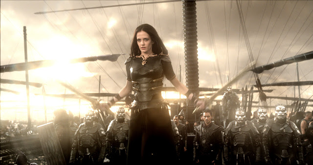 300 Rise Of An Empire EVA GREEN as Artemisia