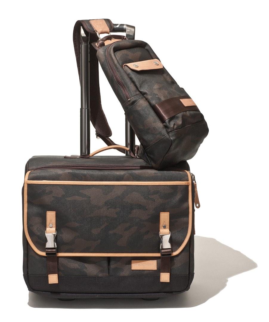 *master-piece HAZE機能旅行包系列:低調深色迷彩紋展現高度質感! 1