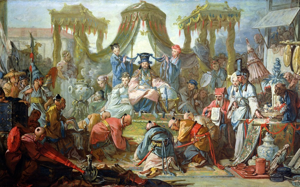 Francois Boucher - The Chinese Marriage, or An Audience with the Emperor of China