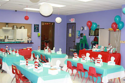 Cat in the Hat Party Decorations