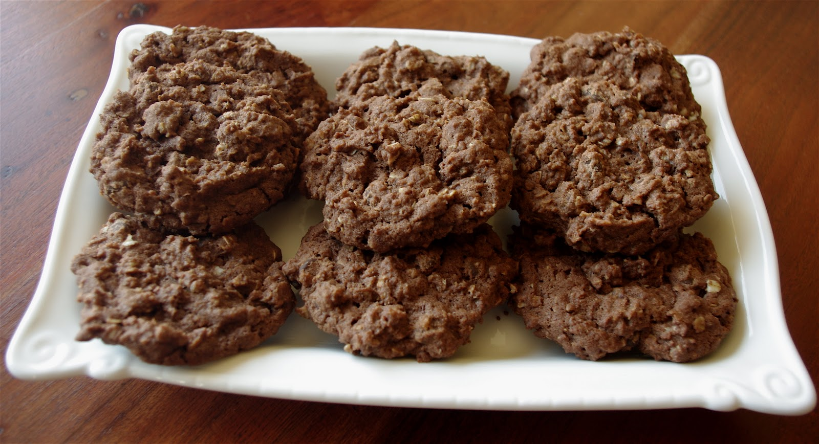 "Creative ""Try""als: Chocolate Oatmeal Cookies Recipe"
