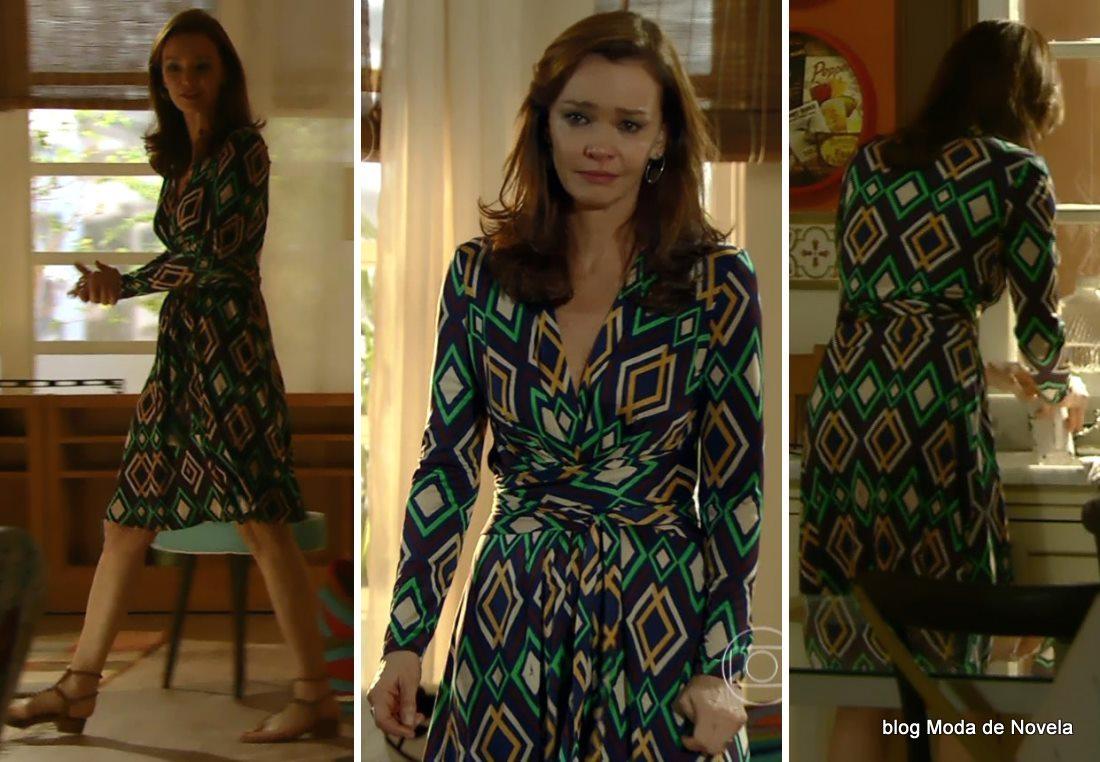 moda da novela Em Família - look da Helena dia 28 de abril