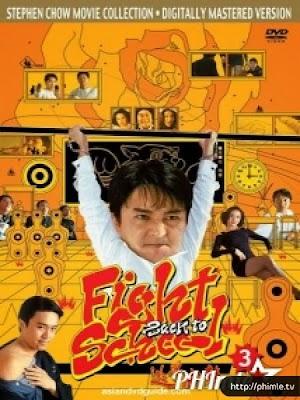 Phim Trường Học Uy Long 3 - Fight Back To School 3 (1993)