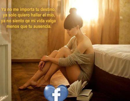 Pensamientos de desamor para facebook