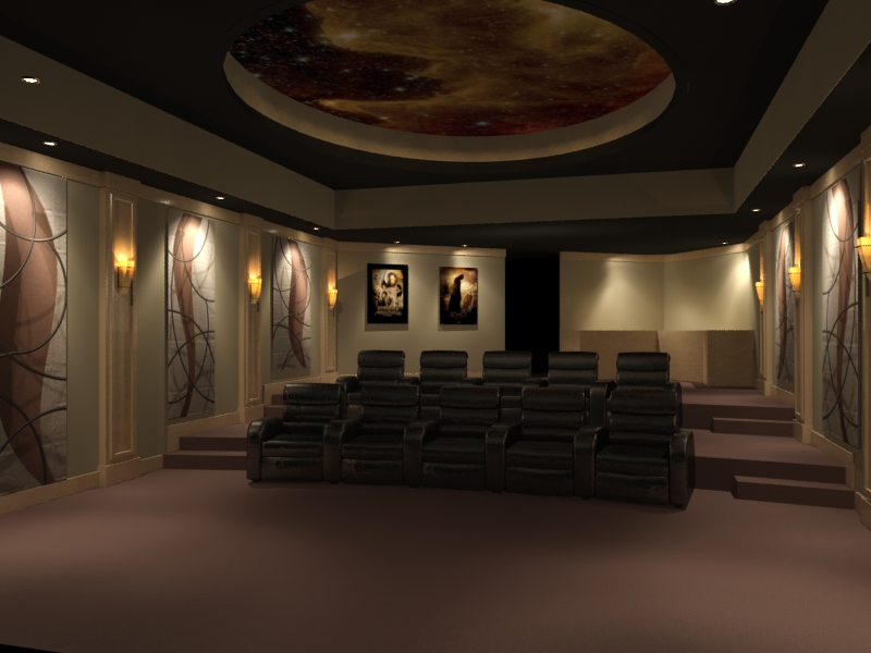 Home theater design and beyond by 3 d squared inc for Custom home theater design