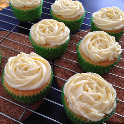 Lemon Cupcakes by Shea