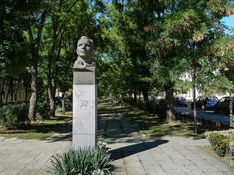 Памятники в Тирасполе.